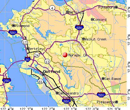 moraga california map moraga california map california map