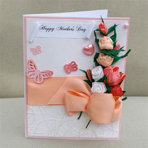 Handmade Paper Flowers For Cards - 17 best images about mothers day cards on