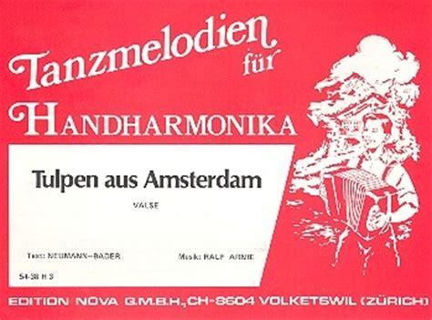 Tas Behel Bling tulpen aus amsterdam f 252 r akkordeon notenlager