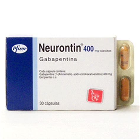Safest Way To Detox Gabapentin by Neurontin 400mg Capsule Rosheta
