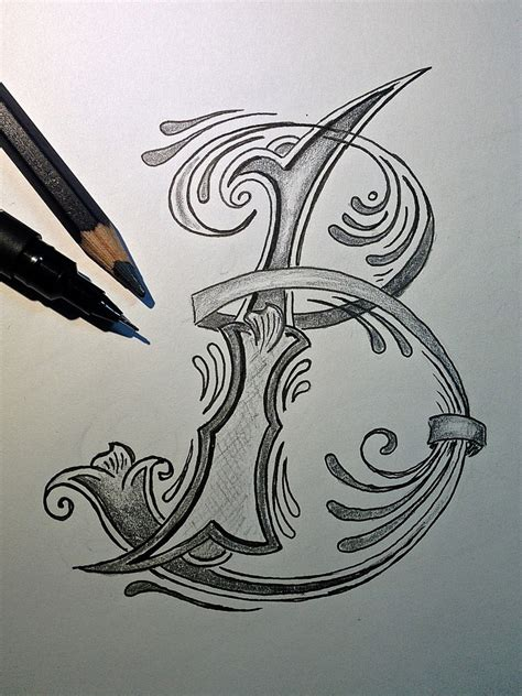 tattoo lettering sketch sketch letter b for better trying to do the next