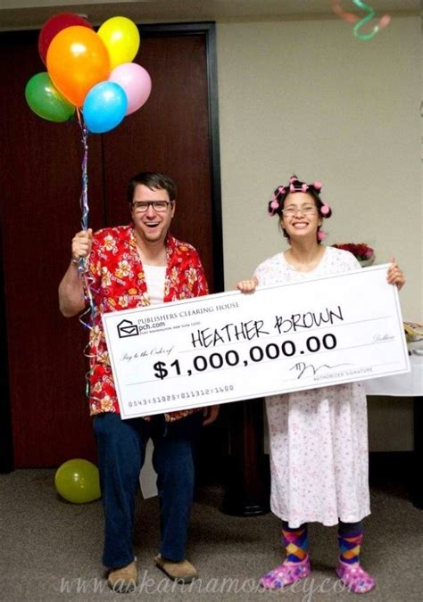 Our Costume Winner by Publishers Clearing House Winner Couples