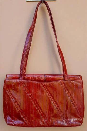 Toinette Bag By fabulous eel skin purse or shoulder bag toinette s