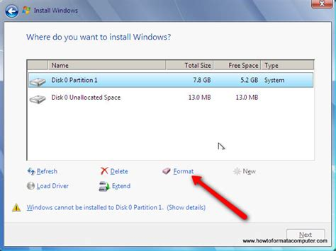 format hard drive laptop windows 7 migrate xp to windows 7 solved windows 7 help forums