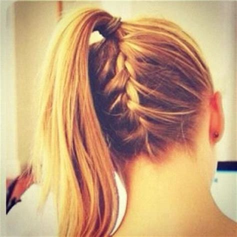 upside down haircut upside down french braid ponytail hair cuts color
