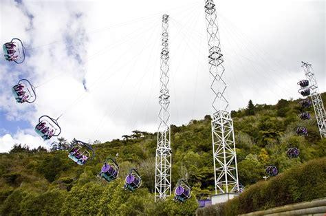 swinging in new zealand rotorua nz skyswing