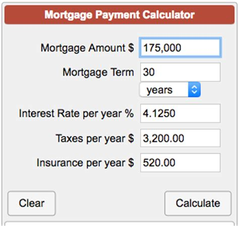 Calculate My House Payment With Taxes And Insurance 28 Images Mortgage Payment