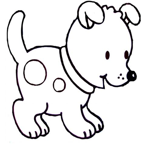 imagenes de animales bebes para colorear dibujos de perros para colorear dibujos animales pinterest