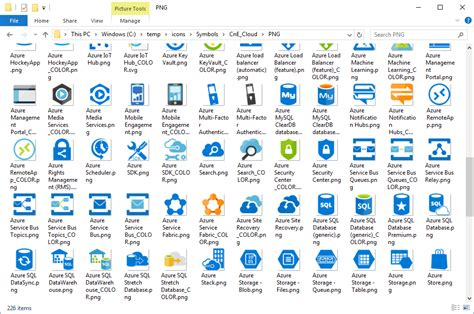 visio icons for powerpoint microsoft azure icon set visio stencil