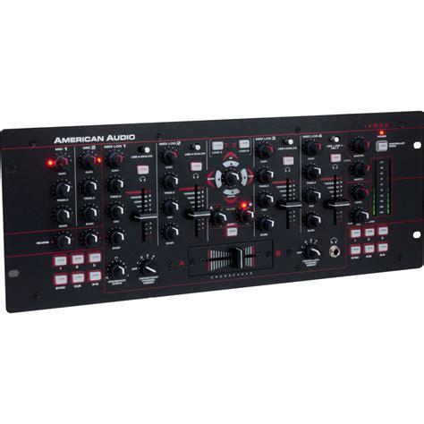 Audio Mixer American Standard american audio 19 quot mxr 4 channel midilog analog midi 19 mxr