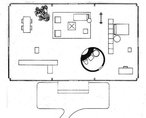 Farnsworth House Floor Plan Dimensions campus de la casa de cristal arquiscopio archivo