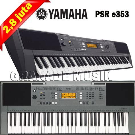 Tas Keyboard Korg By Granade Musik by Granade Musik Keyboard Yamaha Psr E353