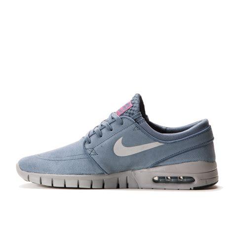 Nike Stefan Janoski 01 nike sb stefan janoski max leather graphite metallic silver pink pow sole u