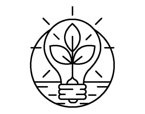 imagenes de ahorro energetico para colorear apexwallpapers com bulb with leaves coloring page coloringcrew com