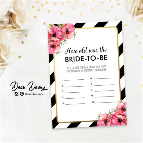 bridal shower for all ages how was the kate spade inspired guess age