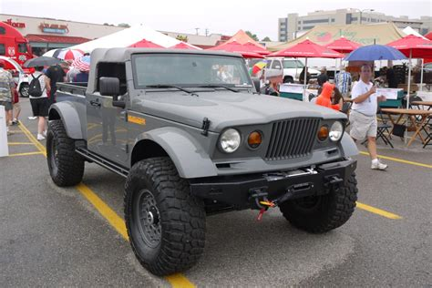 jeep prototype truck latest pickup wrangler concept from jeep meet nukizer