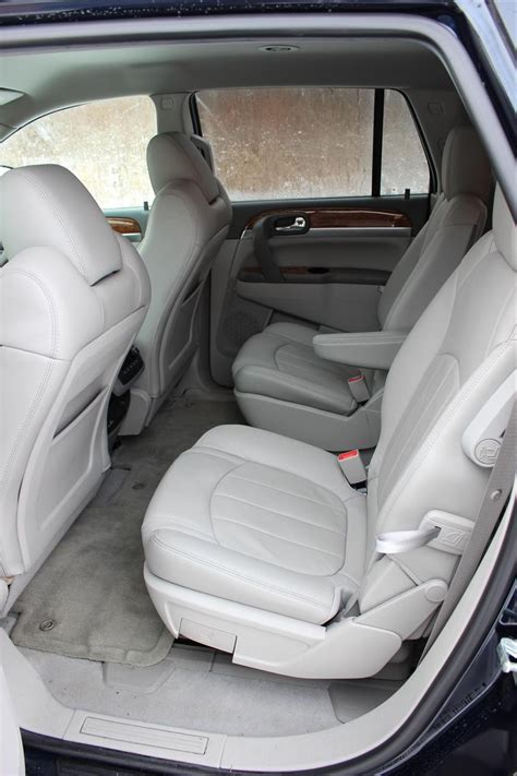 buick enclave second row bench seat 2012 buick enclave