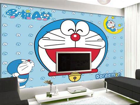 doraemon wallpaper for room doraemon 3d wallpapers impremedia net