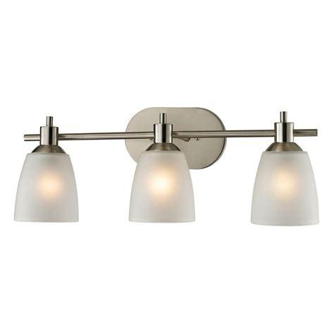 lights jackson tn titan lighting jackson 3 light brushed nickel wall mount