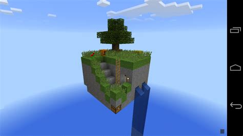 skyblock map skyblocks map survival minecraft pocket edition minecraft pe mcpe