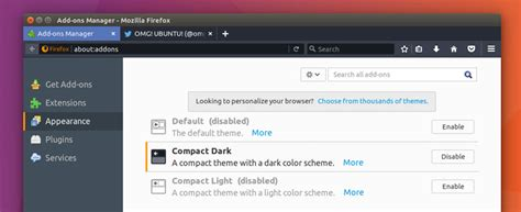 firefox new themes firefox 53 compact dark theme looks wrong on solus solus
