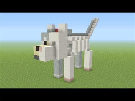 minecraft tutorial   build  dog anatomy statue