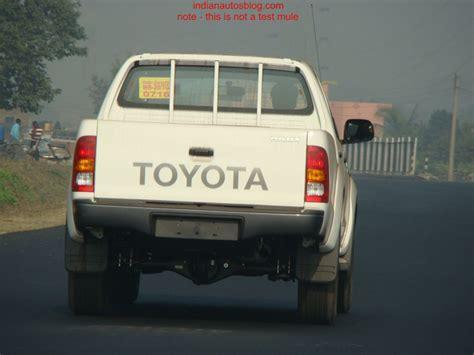 Toyota Trucks In India Toyota Trucks In India Launching Html Autos Weblog