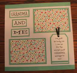 Handmade Baby Scrapbook Ideas - 1 premade handmade 12 x 12 and me scrapbook page