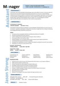 Resume Exles For Managers by Assistant Manager Resume Retail Cv Description Exles Template Duties Sles