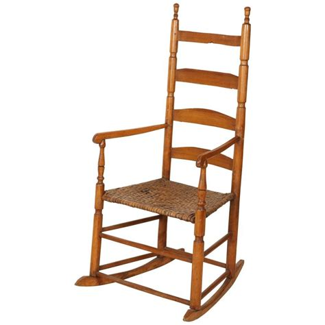 high back rocking chair ladder high back rocking chair for sale at 1stdibs