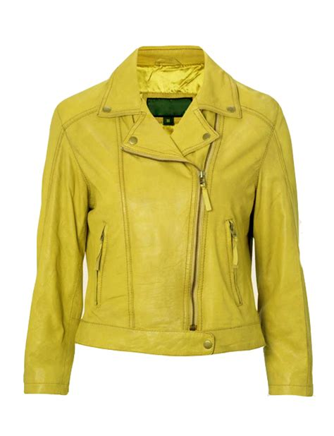 yellow motorcycle jacket temig yellow motorcycle leather jacket leather4sure