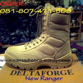 Sepatu Nevada Size 40 Black Hitam Boots Ori Jual Delta Forge New Rangger Gurun Dan Blackcolour