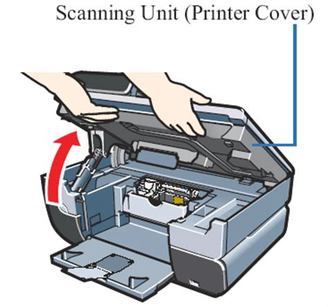 Maintenance Unit Printer canon knowledge base locate the serial number mp530