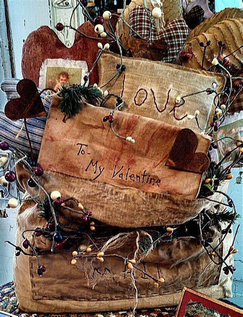 primitive valentines 17 best images about primitive stitchery