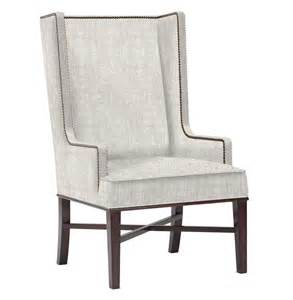 Wing Dining Chairs Jacqueline Hostess Wing Back Occasional Dining Arm Chair Kathy Kuo Home
