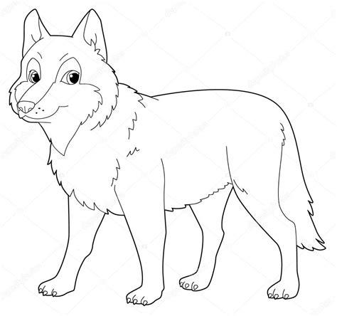 imagenes para colorear lobo dibujos de lobos para colorear beautiful lobo entrando