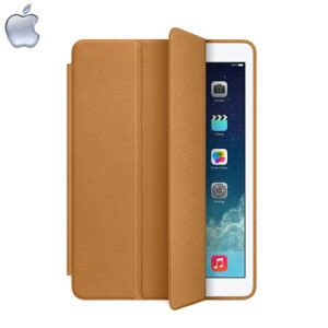 Smart Cover Air Brown apple leather smart for air brown
