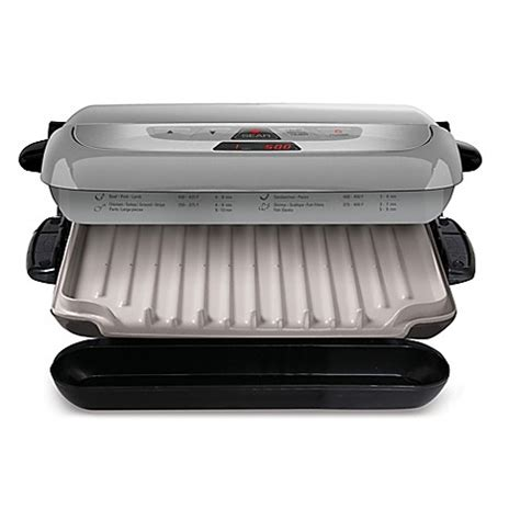 bed bath and beyond grill george foreman 174 evolve grill system bed bath beyond