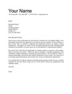assistant cover letter exles office assistant cover letter