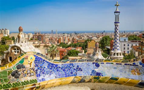 barcelona wallpaper gaudi beauty parc g 252 ell barcelona wallpaper oh the places you