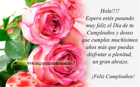 imagenes de rosas de cumpleaños im 225 genes de feliz cumplea 241 os con flores ツ tarjetas y