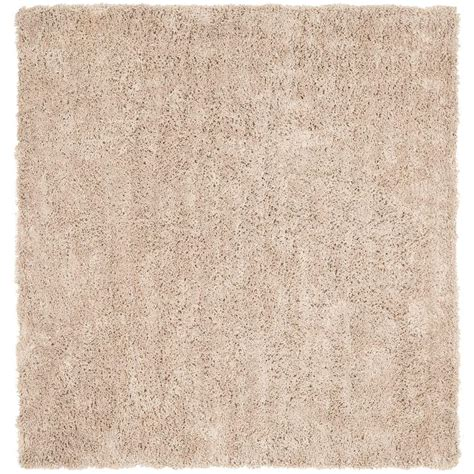 Square Area Rugs 9 X 9 Safavieh Classic Shag Ultra Taupe 9 Ft X 9 Ft Square Area Rug Sg240d 9sq The Home Depot