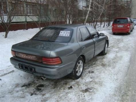 Value Of 1994 Toyota Camry 1994 Toyota Camry Pictures 1800cc Gasoline Ff