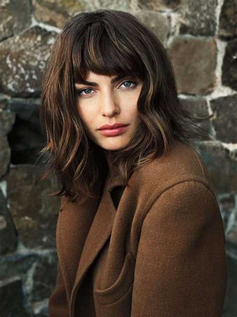long bob for heavy face 20 short haircuts for thick wavy hair short hairstyles