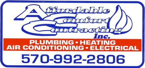 affordable comfort pennsylvania heating ventilation air conditioning