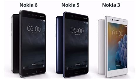 Nokia ritorna in Europa: arrivano Nokia 6, Nokia 5 e Nokia