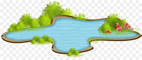 pond cartoon png    transparent drawing png  cleanpng kisspng