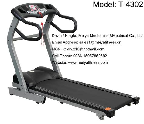motorized treadmill for home use t 4302 meiya china