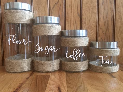 Rustic Kitchen Canisters by Farmhouse Kitchen Canisters Kitchen Canisters Rustic