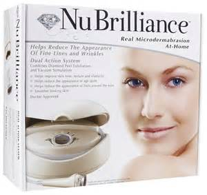 nubrilliance microdermabrasion at home system brand new